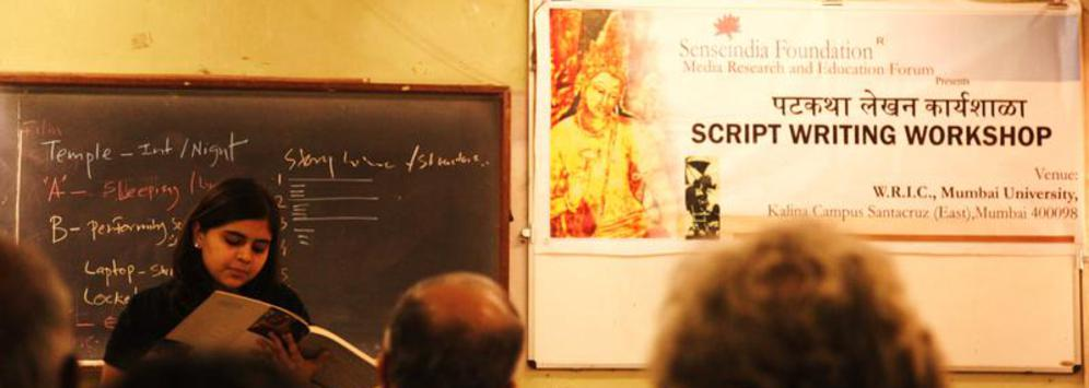 script writing course Ice script writing course curriculum learning about the evolution of indian screenplays the art of adaptation understanding the premise pitching identifying the theme.